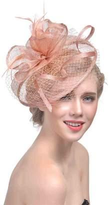 93630220 Genda 2Archer Elegant Women Lady Net Veil Fascinator Hair Clip Hat Wedding  Party