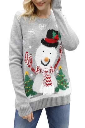b1464a5fcfb3 Grey Christmas Knitwear For Women - ShopStyle Canada