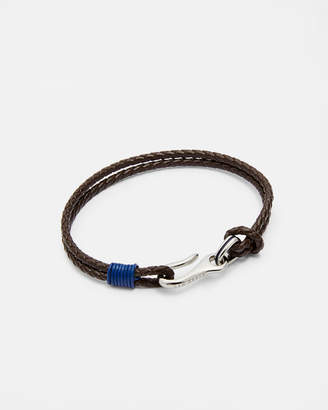 Ted Baker TWIRL Double strand leather bracelet