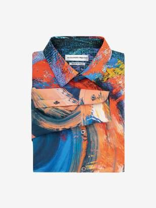 Alexander McQueen Painter's Canvas Shirt