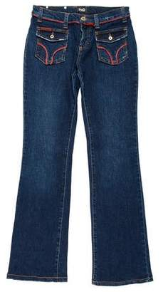 Dolce & Gabbana Low-Rise Flared Jeans