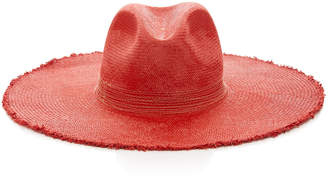 Filu Hats Koh Samui Wide-Brimmed Straw Panama Hat Size: S