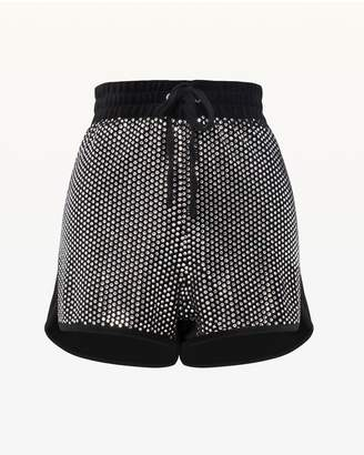 Juicy Couture Swarovski Embellished Velour Short