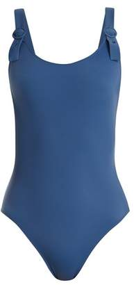 Solid & Striped The Lucy Buckle Strap Swimsuit - Womens - Blue