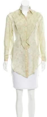 Dolce & Gabbana Silk Print Top