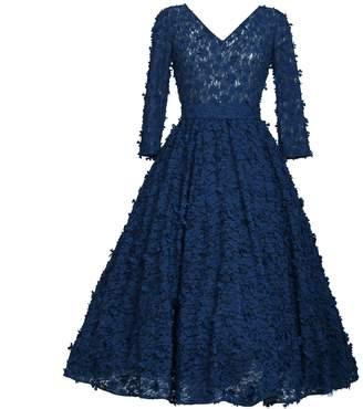 MATSOUR'I - Cocktail Dress Jasmin Blue