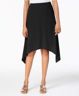 Alfani Pull-On Handkerchief-Hem Skirt