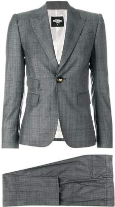 DSQUARED2 checked trouser suit