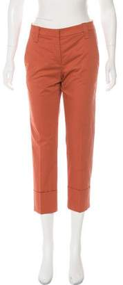 Brunello Cucinelli Mid-Rise Straight-Leg Pants