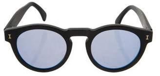 Illesteva Round Mirror Sunglasses