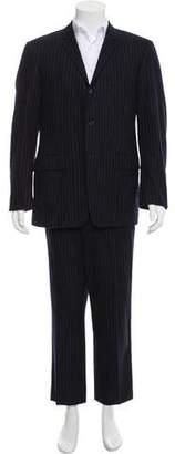 Thom Browne Wool Pinstripe Suit