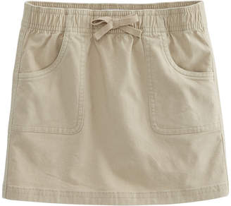 Vineyard Vines Girls Overdyed Garment Washed Twill Tape Skirt