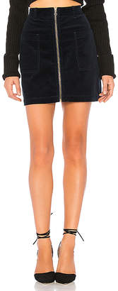 1 STATE Patch Pocket Corduroy Mini Skirt