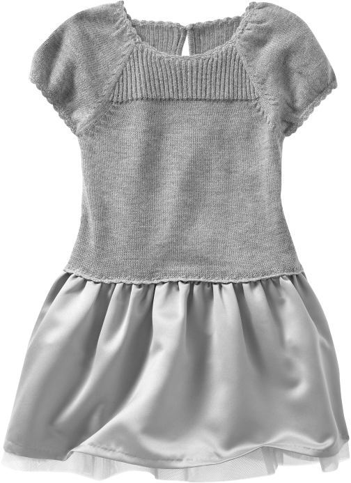 Gap Satiny sweater dress