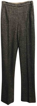 Ermanno Scervino Brown Wool Trousers