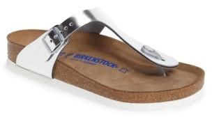 Women's Birkenstock Gizeh Soft Footbed Flip Flop $134.95 thestylecure.com