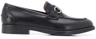 Salvatore Ferragamo black formal loafers