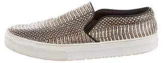 Celine Python Slip-On Sneakers