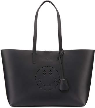 Anya Hindmarch Ebury Smiley Leather Shopper Bag