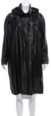Sonia Rykiel Hooded Oversize Coat