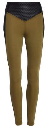 Koral Taint Shantung Leggings Size: XS
