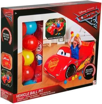 Disney 3 Lightning McQueen Vehicle Ball Pit