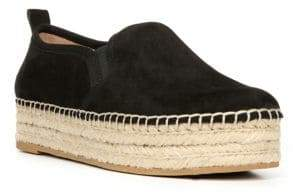 Sam Edelman Carrin Leather Platform Espadrilles