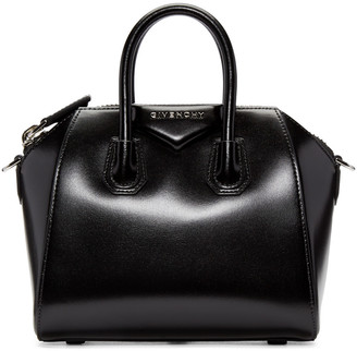 Givenchy Black Mini Antigona Bag $1,750 thestylecure.com