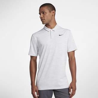 Nike Dri-FIT TW Men's Striped Golf Polo