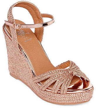 GC SHOES GC Shoes Womens Honor Wedge Sandals
