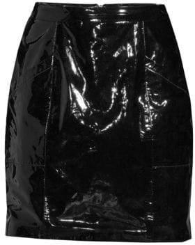 Fleur Du Mal Patent Leather Mini Skirt