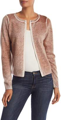 Olsen Sigred Faded Cropped Cashmere Cardigan