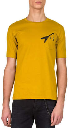 The Kooples Short-Sleeve Heathered T-Shirt