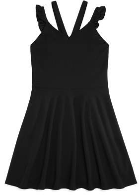 Sally Miller Girls' Vanessa Ruffle-Strap Dress - Big Kid