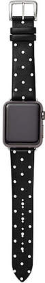 Kate Spade Polka dot leather apple watch® strap