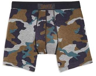 Saxx Vibe Camouflage-Print Boxer Briefs