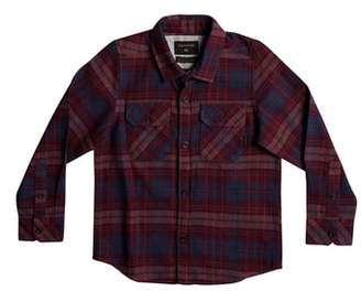 Quiksilver Fitzspeere Plaid Flannel Shirt