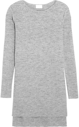 DKNY - Ribbed Cotton-blend Sweater - Gray $455 thestylecure.com