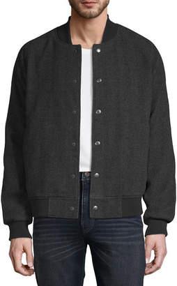 Claiborne Tweed Heavyweight Bomber Jacket