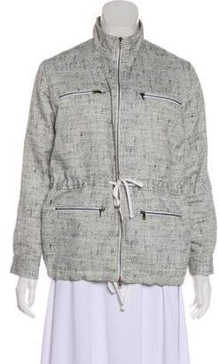 Jenni Kayne Patterned Zip-Up Jacket