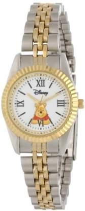 EWatchFactory Disney Women's W000578 Winnie The Pooh Two-Tone Status Watch
