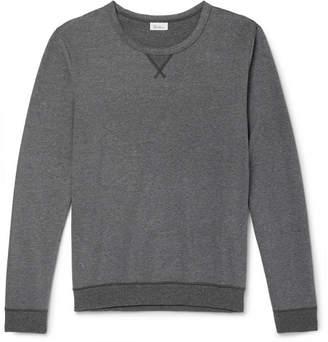 Schiesser Hugo Mélange Cotton-Jersey Sweatshirt