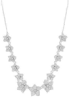 Kate Spade Pavé Bloom Statement Necklace, 15.5""