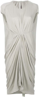 Rick Owens Lilies gathered-front draped dress