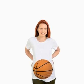 ONLINE Cute Maternity Tees Basketball Belly Shirt