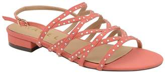 Ravel Pink 'Hanna' Ladies Strappy Open Toe Sandals