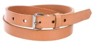 Sofie D'hoore Leather Buckle Belt