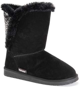 Muk Luks Carey Faux Fur Boot
