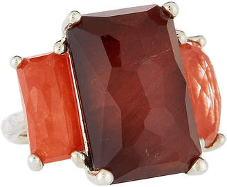 Ippolita Rock Candy 3-Stone Ring in Red, Size 6