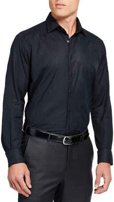 Men's Paisley Jacquard Dress Shirt